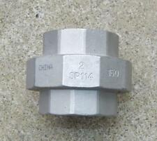"""(1) 2"""" 150# 316 Stainless Steel Socket Weld Union """"New other"""" Ts1"""