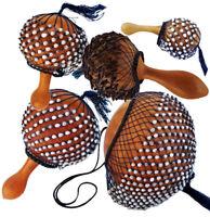 Chekere Maraca Rassel Percussion Shaker original Afrika