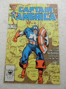 Captain America #319 Scourge VF 8.0 1986 Marvel Comics