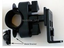 MOTORCYCLE/BICYCLE HANDLEBAR MOUNT FOR MAGELLAN ROADMATE 3055T-LM 5045 LM 5045MU