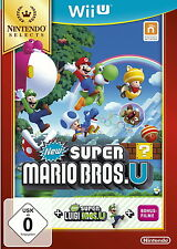 New Super Mario Bros. U + New Super Luigi U (Nintendo Wii U, 2016, DVD-Box) NEU
