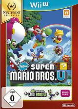 New Super Mario Bros. u + New Super Luigi U para Wii U