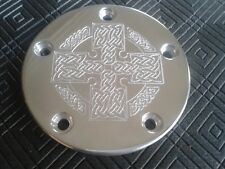 CNC CUSTOM PERSONALISED IGNITION TIMER COVER HARLEY DAVIDSON TWIN CAM 5 HOLE
