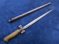 Vintage Original French M1886/93/16 Lebel Shortened Bayonet & Scabbard