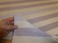 Pastel Purples - Upholstery Fabric - Belgian Soft Twill Stripe Mauve from NEXT