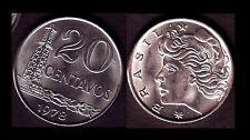 ★★ BRESIL ● 20 CENTAVOS 1978 ● E5 ★★