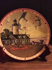 """Jason Sparkin"" The Lighthouse Keepers Daughter Collectors plate"