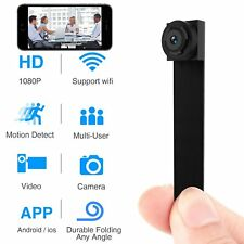 Wireless WiFi Camera 1080P APP Mini Portable Covert Security Cam Motion SPYCAM