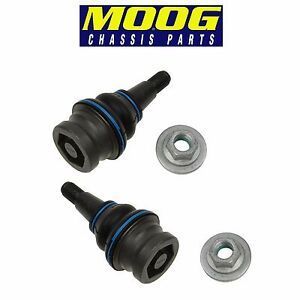For Audi A4 A7 S4 S6 S7P Pair Set of Front Left & Right Lower Ball Joints Moog
