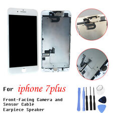 For iPhone 7 Plus 5.5 LCD Touch Screen Replacement Digitizer Camera Sensor White