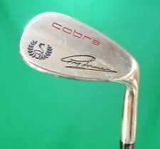 vintage COBRA Greg Norman 57° sand iron FIRM flex steel