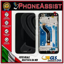 DISPLAY LCD VETRO TOUCH FRAME Huawei P8 Lite 2017 PRA-LA1 PRA-LX1 PRA-LX3 Nero