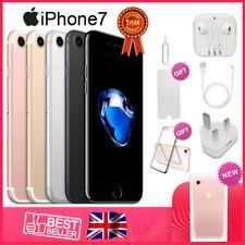 100% New Apple iPhone 7 32GB 128GB - Unlocked SIM Free Smartphone Colours Grades