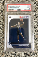 2019-20 NBA Hoops Zion Williamson Rookie Card RC #258 PSA 9 MINT Pelicans 🔥🔥