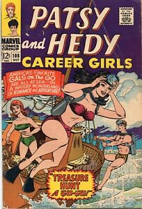PATSY AND HEDY, CAREER GIRLS #108 Marvel Comics 1967 FN+