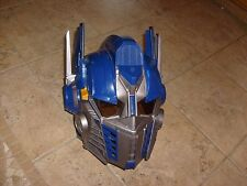 Optimus Prime Transformers Voice Changer & Talking Helmet Hasbro 2006 Cosplay