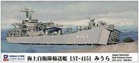 Pit-Road Skywave J-83 JMSDF Landing Ship LST-4151 Miura 1/700 scale kit Japan