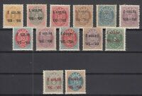 BB5622/ ICELAND – 1902 / 1903 MINT SEMI MODERN LOT - CV 195 $