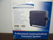 New listing Cbs4 Speco Technologies Ext. speaker