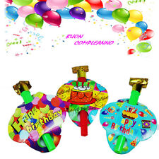 5 Pfeift Trompeten Gute Geburtstag Pfeife Party Fest Bunt Jahre 503