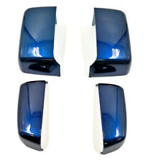 For 14-19 GM Silverado Painted Blue 409Y Towing Mirror Caps Cover OE Replacement