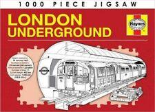 HAYNES LONDON UNDERGROUND 1000 PIECE JIGSAW PUZZLE - UNDER GROUND -LIMITED STOCK