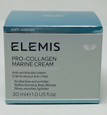 ELEMIS Pro-Collagen Marine Anti Wrinkle Day Cream Moisturizer 30 ml/1 oz $89 NIB