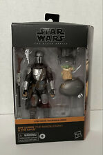 Star Wars The Black Series Din Djarin The Mandalorian and Child - See photos
