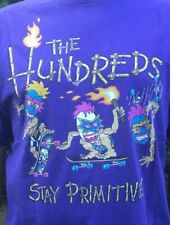 t-shirt the hundreds steve nazar t&c town and country surf designs vintage XL