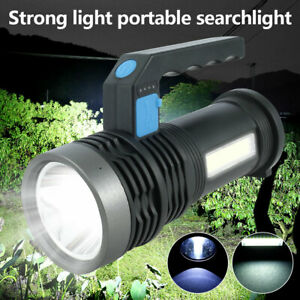 USB Rechargeable LED Camping Light Tent Portable Fishing Lantern Outdoor Lamp UK