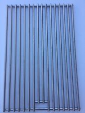 BBQs-R-US stainless steel grill grate to suit RINNAI BBQ. 420mm x 280mm.