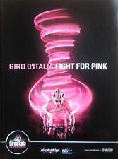 2013 GIRO D'ITALIA ITALY OFFICIAL ROADBOOK ENGLISH CYCLING NO TOUR DE FRANCE