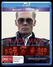 Black Mass (Blu-ray, 2016) Johnny Depp -  New, ExRetail Stock, Genuine D15