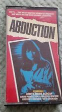 ABDUCTION Prime Time Video Pre-Cert UK VHS (tape snapped)