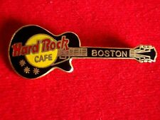 HRC hard rock cafe boston black Les Paul Guitar 2lc HRC Back