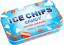 Salted Caramel Ice Chips Candy xylitol sweetened 1.76oz no-dairy-gluten-sugar