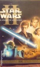 STAR WARS EL ATAQUE DE LOS CLONES !!! COMO NUEVO *** EDICION ESPAÑOLA ***