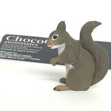 Choco Q Mini Figure Japanese Squirrel (winter) Kaiyodo Japan choco egg