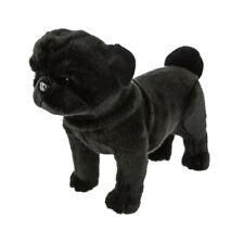 Bocchetta Pug Dog - Midnight 36cm Soft Plush Toy