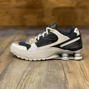 Nike Shox Enigma Gr.40,5 M schwarz CT3452 001 Damen Schuhe Sneaker Turn Neu