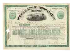 Mobile & Ohio Railroad Company  1891
