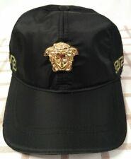 Black Versace Cap Golf Baseball Hat Mens Women Adjustable