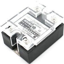 SSR-100DD 100A Solid State Relais Modul Halbleiterrelais 3-32VDC 24-220VDC