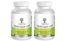Alpha Lipoic Acid 2 Bottles Simply Nature's Pure 600mg 8 month supply ALA R-ALA