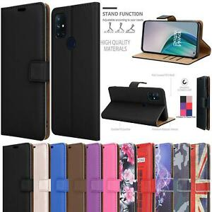 For OnePlus Nord N10 5G Wallet Case, Magnetic Flip Stand Leather Phone Cover