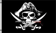 DEAD MAN'S CHEST PIRATE FLAG 2X3 FEET DEADMANS CROSSED SWORDS 2'X3' F1007