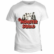 Monster Squad Inspired Mens Horror Film Movie Vampire Zombie 60s 70s T Shirt