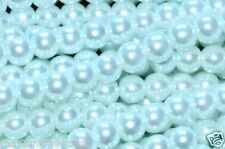 200x4mm 150x6mm 100x8mm 80x10mm white round glass pearl beads wedding & craft