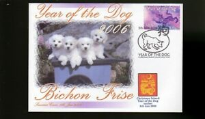 BICHON FRISE 2006 C/I YEAR OF THE DOG STAMP COVER