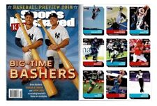 New Sports Illustrated Kids 2018 Giancarlo Stanton Aaron Judge No Label + Cards